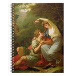 Rinaldo and Armida, 1771 (oil on canvas) Journal