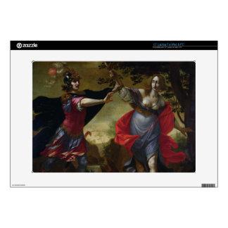 "Rinaldo and Armida, c.1630-40 (oil on canvas) 15"" Laptop Decal"