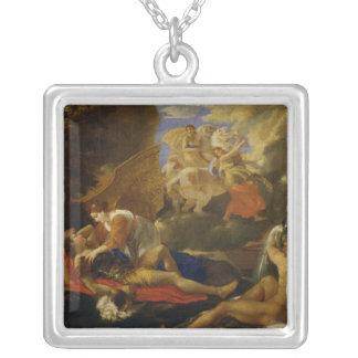 Rinaldo and Armida Silver Plated Necklace