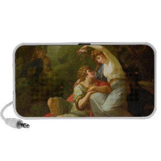 Rinaldo y Armida, 1771 (aceite en lona) Altavoces De Viaje