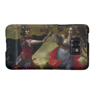 Rinaldo y Armida, c.1630-40 (aceite en lona) Samsung Galaxy S2 Carcasa