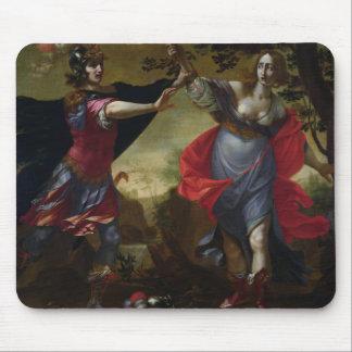 Rinaldo y Armida, c.1630-40 (aceite en lona) Mousepad