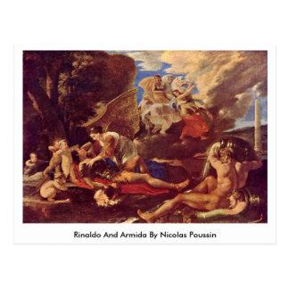 Rinaldo y Armida de Nicolás Poussin Tarjetas Postales