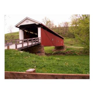 Rinard Covered Bridge Postcard