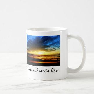 Rincon Beach Puerto Rico Classic White Coffee Mug