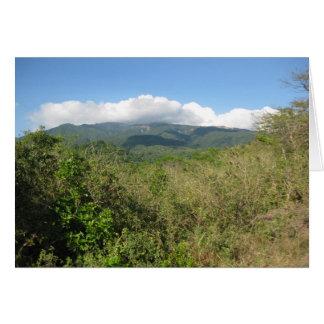 Rincon de la Vieja Volcano Tarjeta Pequeña
