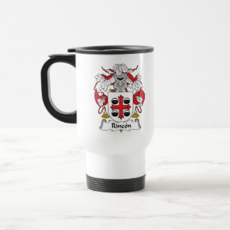 Rincon Family Crest 15 Oz Stainless Steel Travel Mug