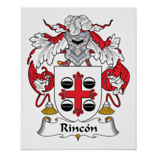 Rincon Family Crest Poster