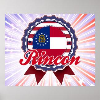 Rincon, GA Print
