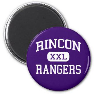 Rincon - guardabosques - High School secundaria -  Imán Redondo 5 Cm