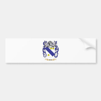 Rind Coat of Arms (Family Crest) Bumper Sticker