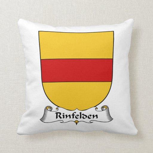 Rinfelden Family Crest Pillow