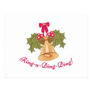 Ring-A-Ding-Ding Postcard