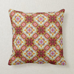 Ring a Rosies Medium Repeat Throw Pillow