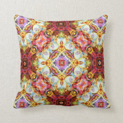 Ring a Rosies Throw Pillow