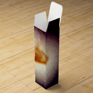 Ring Around a Suspected Black Hole in Galaxy NGC Wine Boxes