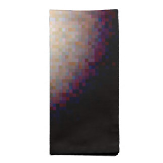 Ring Around a Suspected Black Hole in Galaxy NGC Cloth Napkins