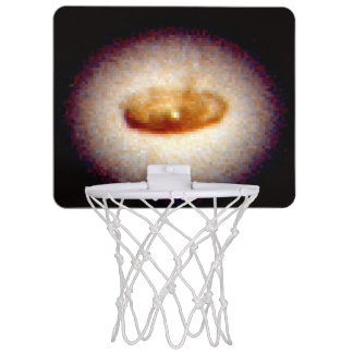 Ring Around a Suspected Black Hole in Galaxy NGC Mini Basketball Backboards