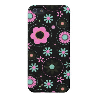 Ring around the flower cover for iPhone SE/5/5s