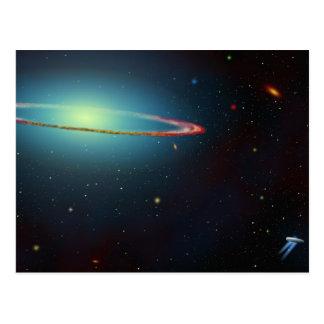 Ring Around the Galaxy Postcard