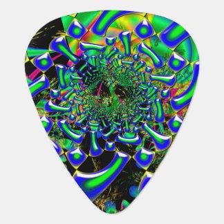 Ring Around The Nucleus Guitar Pick