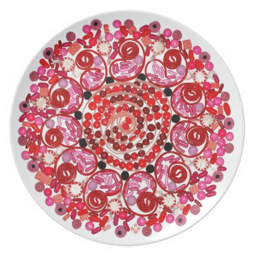 """""""Ring Around the Rosie"""" Candala Plate"""