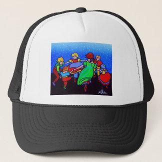 Ring Around the Rosie two Trucker Hat