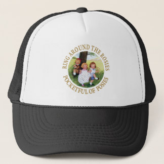 Ring Around the Rosies, Pocketful of Posies Trucker Hat