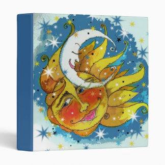 "Ring Avery Signature 1"" Binder Sun and Moon"