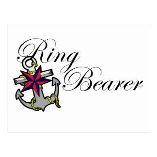 Ring Bearer Anchor Postcard