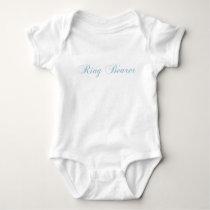 Ring Bearer Aquamarine Baby Bodysuit