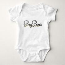 RIng Bearer Baby Bodysuit