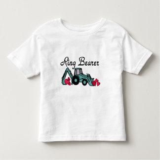 Ring Bearer Backhoe Toddler T-shirt