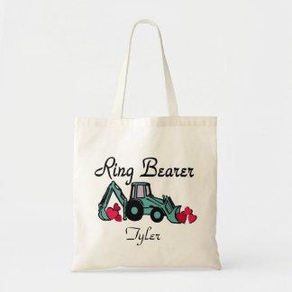 Ring Bearer Backhoe Tote Bag
