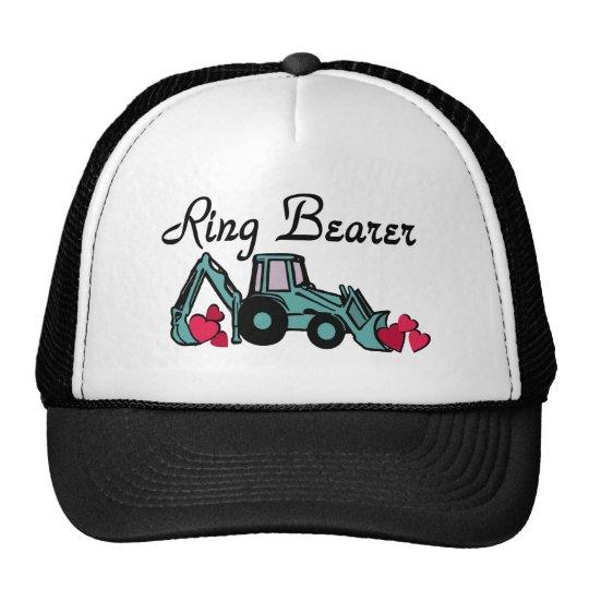 Ring Bearer Backhoe Trucker Hat
