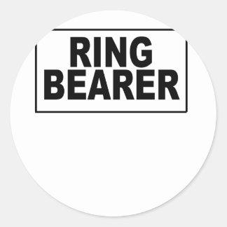 Ring Bearer Box png Round Sticker