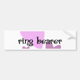 Ring Bearer Bumper Sticker