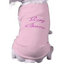 Ring Bearer Dog Pet Clothing