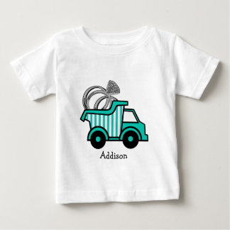 Ring Bearer Dump Truck Baby T-Shirt