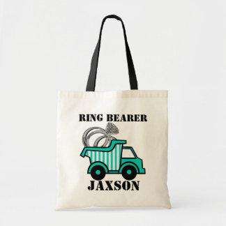 Ring Bearer Dump Truck Bags