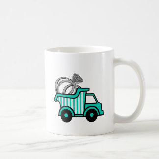 Ring Bearer Dump Truck Classic White Coffee Mug