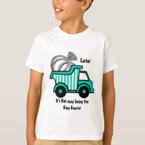 Ring Bearer Dump Truck T-Shirt