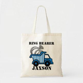 Ring Bearer Dump Truck Tote Bag