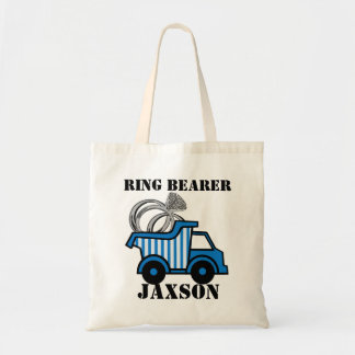 Ring Bearer Dump Truck Tote Bag
