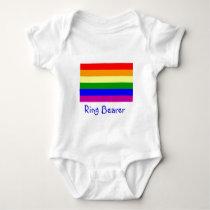 Ring Bearer/Gar Wedding Baby Bodysuit