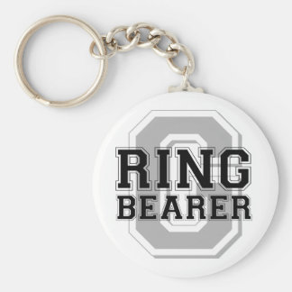 Ring Bearer Groom Cheer Keychain