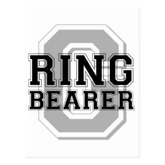 Ring Bearer Groom Cheer Postcard