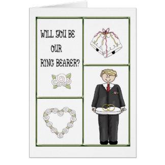 Ring Bearer Invitation