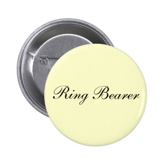 Ring Bearer Ivory Button