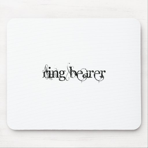 Ring Bearer Mouse Pad